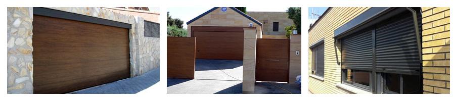 Instalación de puertas y persianas